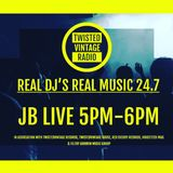 Episode 2 Infected Drums, live DJ show aired 6.5.17 on Twisted Vintage Radio