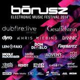 Dandy aka Peter Makto - Warm up to BÓNUSZ Electronic Music Festival 2014 (Technologic Mix)