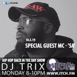 DJ TRIX - Hip Hop Back in the Day - 152 - MC - 'SA'