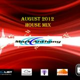August 2012 House Mix