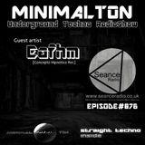 Eafhm @ Episode #076 Minimalton RadioShow At Seance Radio [UK]