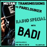 Mutant Transmissions Radio vs Parelduiker with Special guest BADI + 2nd half African Music Spotlight