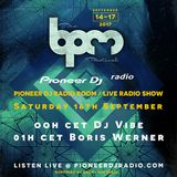 Boris Werner - Live In The Pioneer DJ Radio Room at The BPM Festival Portugal