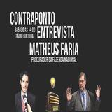 CONTRAPONTO ENTREVISTA MATHEUS FARIA PROCURADOR DA FAZENDA NACIONAL
