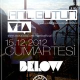 Anıl Bütün & VIA ►Live B2B Performance @ Art Below Underground (15.12.2012)