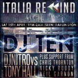 DJ Ten - Italia Rewind 15.04.17 Re-created