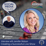 Episode #87: Interview with Jennifer Watson from Agorapulse  & Social Pulse Weekly