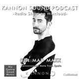 Kannon sound podcast 024: MAD MAXX