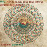 #12 show by adda on www.paranoiseradio.com 25.02.2013