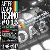After Dark Techno 11/09/2017 on soundwaveradio.net