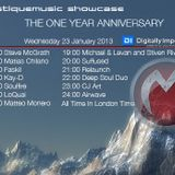 CJ Art - Mistique Music Showcase 1-Year Anniversary [23.01.2013] on Digitally Imported