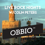 Live Rock Nights w/Colin Peters @ OBBIO ( Sevilla )