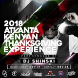 Atlanta Thanksgiving Promo Mix 2018 [Afrobeats]