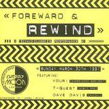 """Dave Davis at """"Foreward & Rewind"""" @ Cherry Moon (Lokeren - Belgium) - 30 March 1997"""