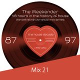 The Weekender Mix 23 - Beefy Drums, Big Drops, and Boisterous Decibels
