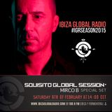 Squisito Global Session on Ibiza Global Radio- Mirco B. 060216