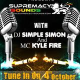 Simple Simon & Mc Fire Kyle  Live On Vibe City Radio ( Canada ) Part 2