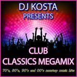DJ Kosta Club Classics MegaMix 2017