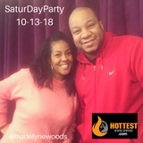 SaturDayParty with @MadelyneWoods on @Majicdc on 10-13-18