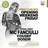 Nic Fanciulli  - Live At Blue Marlin Opening Party (Ibiza) - 01-May-2015