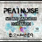 Peat Noise @ WE ARE DARKNESS meets ECHO AUDIO, e-feld, Cologne (Germany) (13.AUG.2016)
