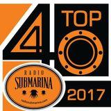 TOP 40 2017 Radio Submarina - Positions 40 - 31