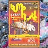 The Bump & Hustle STL 5 Year Anniversary with Señor Eddy (Sonorama Chicago) and DJ Makossa