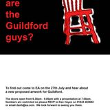 KFMI:Guildford Guy Riots - Proposed Art Installation by EA Games