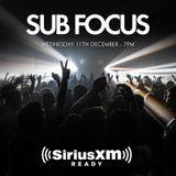 Sub Focus (RAM Records) @ North American Tour Promo Mix, Sirius XM - New York (11.12.2013)