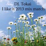 Dj. Tokai - I like it 2013 mix March
