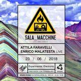 """SALA_MACCHINE   Stagione 2018   Episodio #5 """"Pietre"""""""
