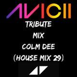 Colm  Dee House Mix Vol.29 (AVICII Tribute)