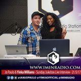 JO PAULO with Yinka Williams - 21/5/2017 Music Interview @ I'M IN Radio - #SundayJukebox