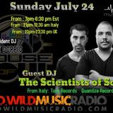 THE SCIENTISTS OF SOUND DWILD MUSIC RADIO HOUSE OF SOUL JULY 24, 2016