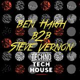 Ben Haigh B2B Steve Vernon @ Club Vernon ( Techno , Techhouse , Prog )