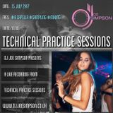 Technical Practice Sessions - Dance & Pop