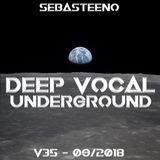 DEEP VOCAL Underground THIRTY FIVE - September 2018