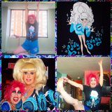 Visco Disco:The Stupid Show 9/9/16 Lady Bunny Gerry Visco