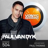 Paul van Dyk's VONYC Sessions 504 – Paul Thomas