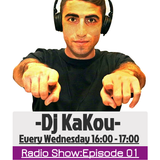 Dj Kakou Wacky Radio Show: Episode 01