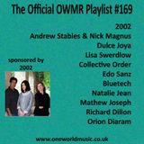 Playlist #169 Sponsored by 2002