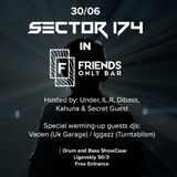 Vaden - 30.06.17 live at Sector 174 @ Friends Only Bar