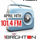 Live on 1 Brighton FM :: April 13, 2017
