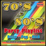 70's&80's party disco music
