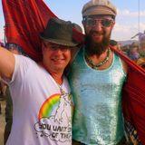 Sweeney Crashing Camp Random Pants at Burning Man 2014