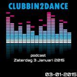 Allard Eesinge - Clubbin2Dance (03-01-2015)