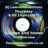 dj lawrence anthony pcr radio 12/05/16