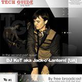 David Divine - Tech Guide #1 (Guest Dj KoT aka Jack -o'-Lantern)