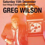 EV Archive 001 - Greg Wilson with Stuart Patterson - December 2011