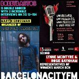 BobbyBastos with Martín Grossman and Women's March reps Rosie Baynham and Lynne McIntyre